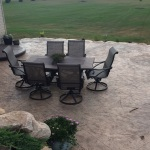 Custom patio design by Lehmicke
