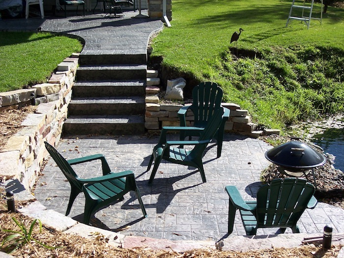 Custom patio designs by Lehmicke Construction