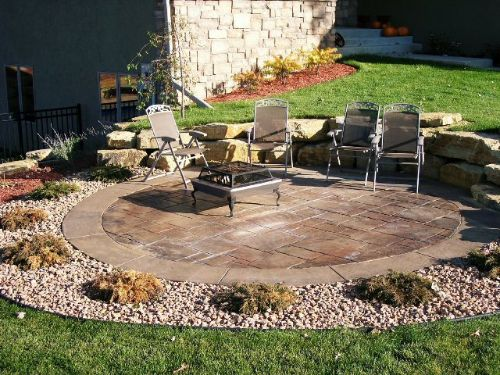 Custom Patio Design by Lehmicke Construction