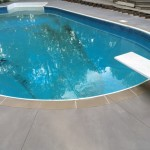 custom concrete pool deck