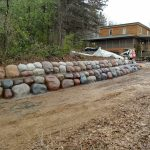 Concrete Boulder Design Installation