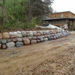 Concrete Boulder Design Installation