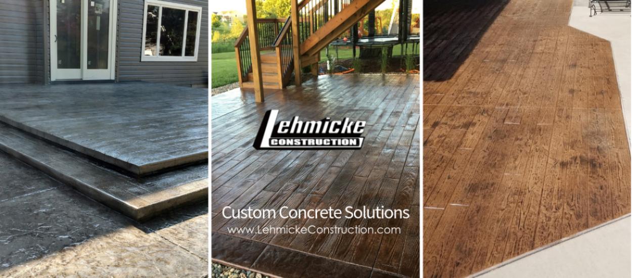 Lehmicke Concrete Faux Wood