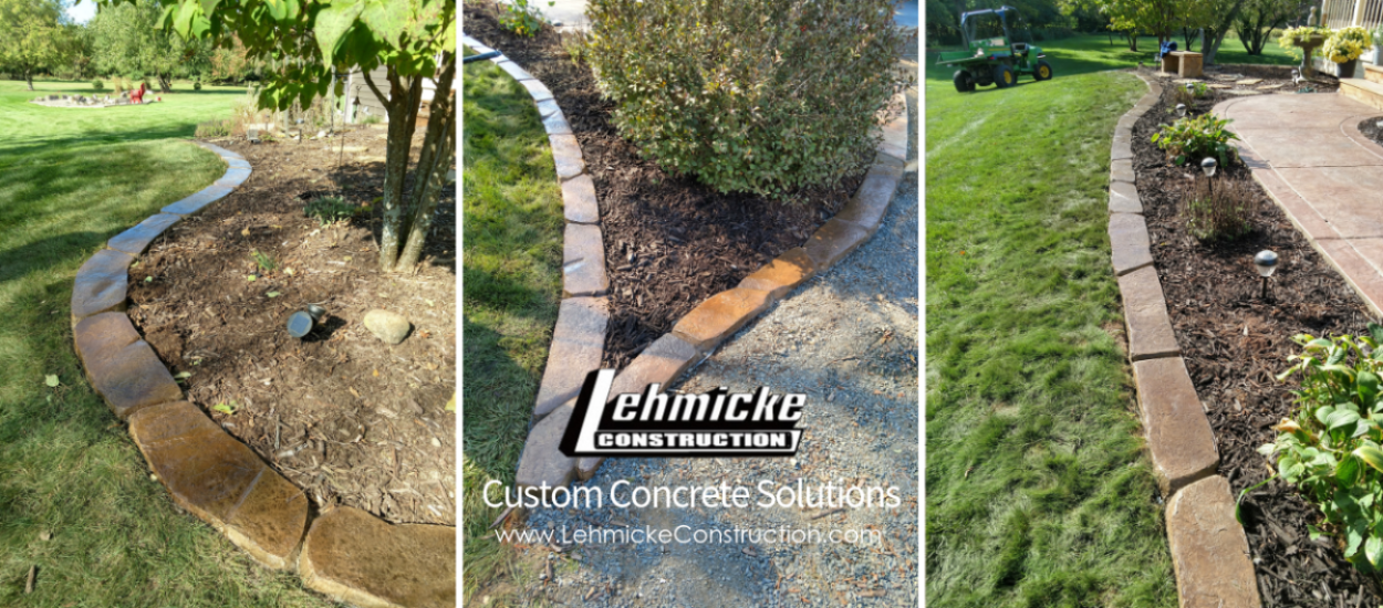 Lehmicke Custom Landscape Edging
