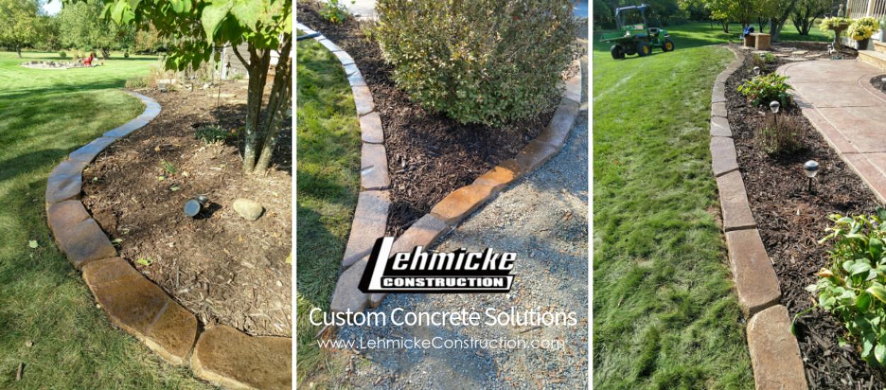 Lehmicke Custom Landscape Edging